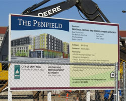 St. Cloud Window supplies 341 windows and 200 doors to Penfield Project
