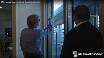 New hotel along a busy Metro rail line selects St. Cloud Window products to block urban noise