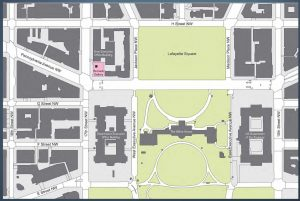 Renwick Gallery location map