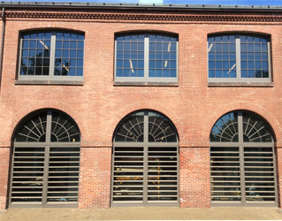SCW3000 Windows Transform Historic Armory into Student Center