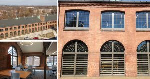 Historic Armory transformed with SCW3000 Windows