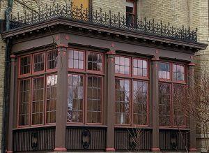 Before window replacement John Michael Kohler House