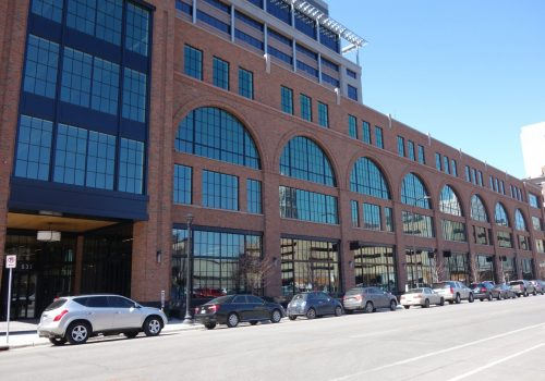 Millwright Building: New Construction and New Windows, Create Historic Look