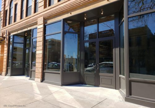 St. Cloud Window Introduces SCW4500SF Storefront and Entrance System